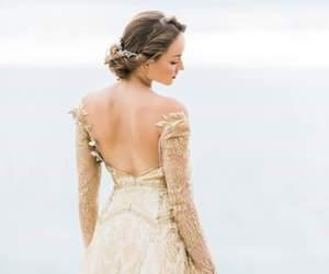 bride, dress, and nice image