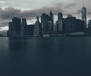 background, black, and city image