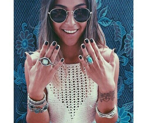 fashion, girl, and rings image