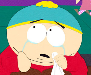cartman, crying, and South park image