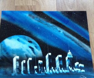 brisbane, markets, and spray paint art image