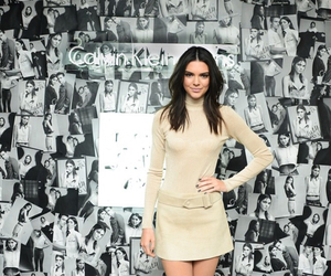 kendall jenner, model, and Calvin Klein image