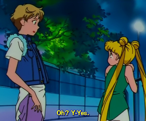 sailor moon, usagi tsukino, and sailor uranus image