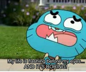 gumball and funny image