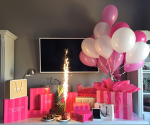 pink, birthday, and Victoria's Secret image
