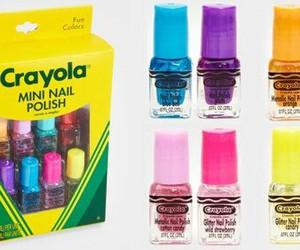 crayon, nail, and uñas image