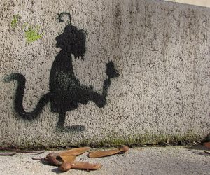street art, findus, and cute image