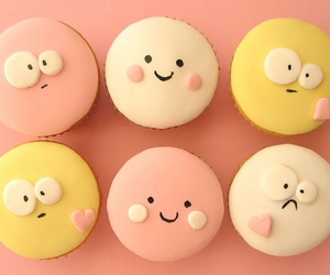 cute, cupcake, and pink image