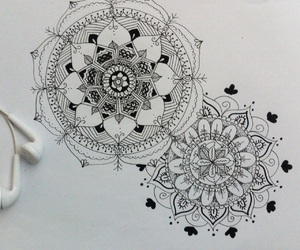 drawing and flores image