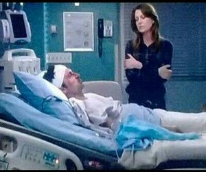 Died, meredith grey, and sad image
