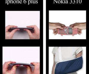 funny, nokia, and iphone image