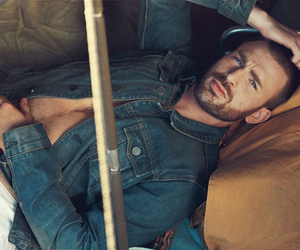chris evans, sexy, and captain america image