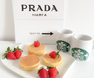 pancakes, Prada, and food image