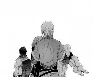 manga, obi, and shirayuki image