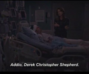 tears, grey's anatomy, and i can't believe image