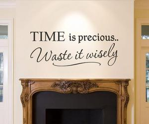 time, quote, and text image