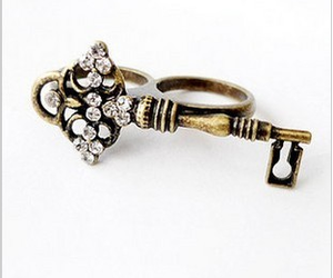double, jewelry, and key image