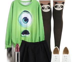 monsters inc., outfit, and shoes image