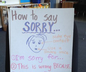 sorry and how to apologize image