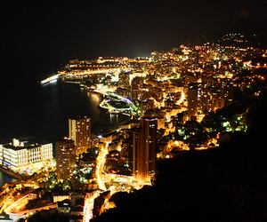 monaco and night image