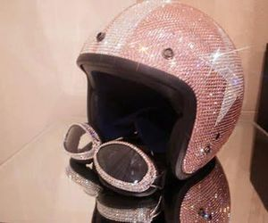 bling, glitter, and goggles image
