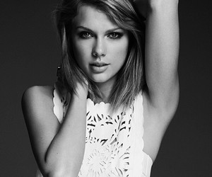 Taylor Swift, 1989, and black and white image
