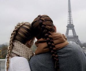 friends, hair, and paris image