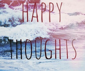 ocean, happy, and waves image