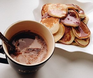 breakfast, coffee, and tasty image