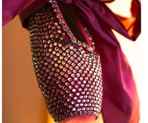 bling, purple, and dance image