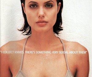 Angelina Jolie, lips, and movies image