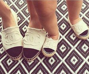 chanel, baby, and shoes image