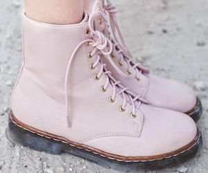boots, shoes, and pink image