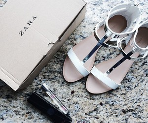 Zara, fashion, and shoes image