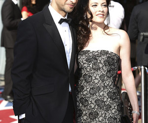 lara pulver and raza jaffery image