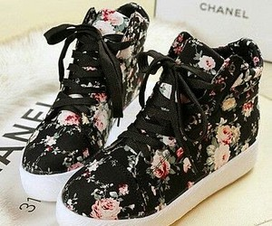 shoes, chanel, and black image