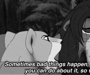quote, disney, and lion king image