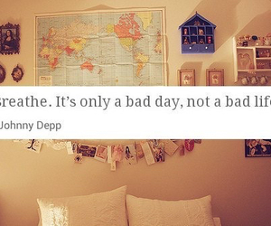 bad day, quote, and not bad life image