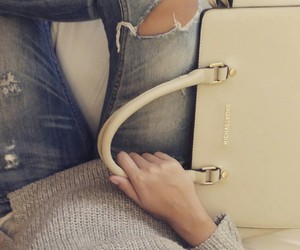 handbag, love, and jeans image