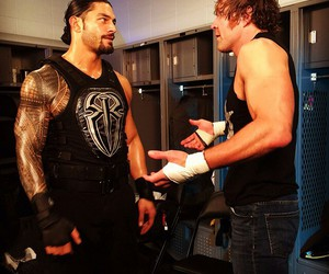 wwe, dean ambrose, and roman reigns image