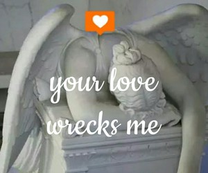angel, crush, and wreck image