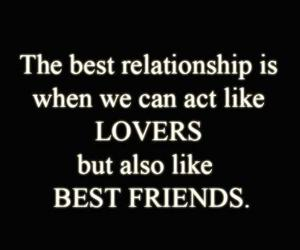 best friends, quote, and love image
