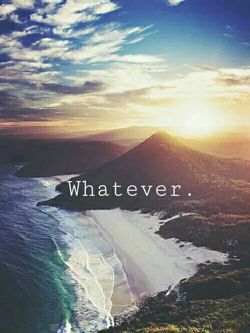 whatever, mountains, and sea image