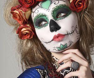 Halloween, make up, and halloween make up image
