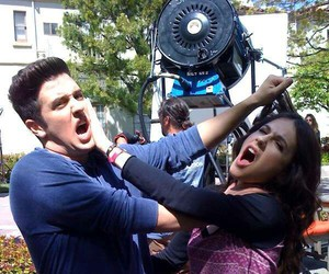 logan henderson, erin sanders, and big time rush image