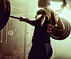 fit, weightlifting, and fitness image