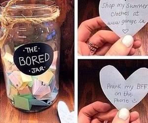 diy, bored, and jar image