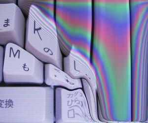 grunge, keyboard, and pale image