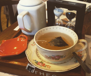 brunch, earl grey, and food image