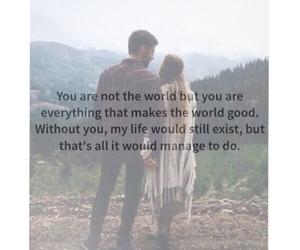 books, couple, and quotes image